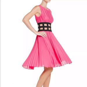 BCBG MAX AZRIA GISELE ULTRA PINK DRESS